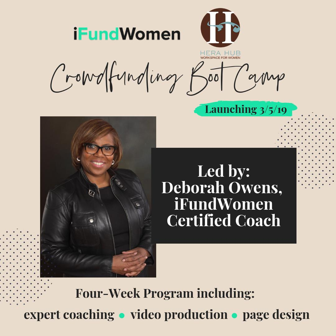 Female founder? Check. Need funding for Your Business? Check Attending the @ifundwomen @herahubdc Crowdfunding webinar ? Check. RSVP http://bit.ly/wucrowdfunding