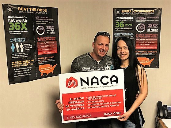 "At 2.688%, the Figueroas in #Hartford now own for the same as they paid in rent! ""We heard it is the best program to help you get a house - AND IT IS! We can't thank you enough for naking our dreams come true. #AmericanDream #NACAPurchase #AchieveTheDreamNACA 2.829% APR"