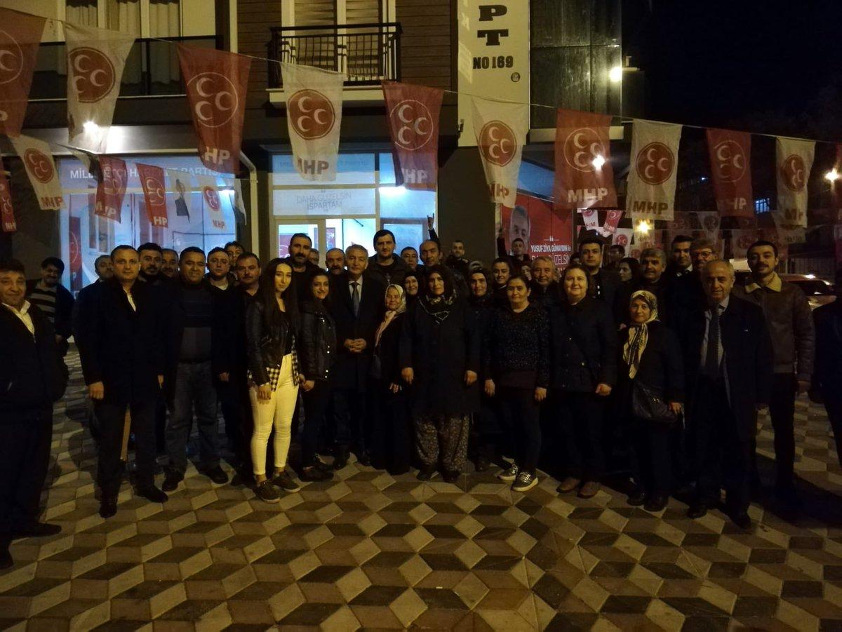 Yedişehitler Seçim Yönetim ve İletişim Merkezi'mizi ziyaret ederek halkımızla bir araya geldik; Isparta İçin İstikrar...🇹🇷