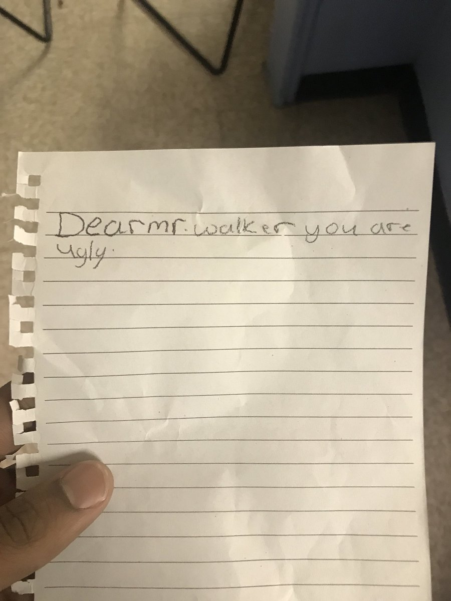 Teachers, Show Us The Funniest, Sweetest, Or Weirdest Note You've Received From A Student