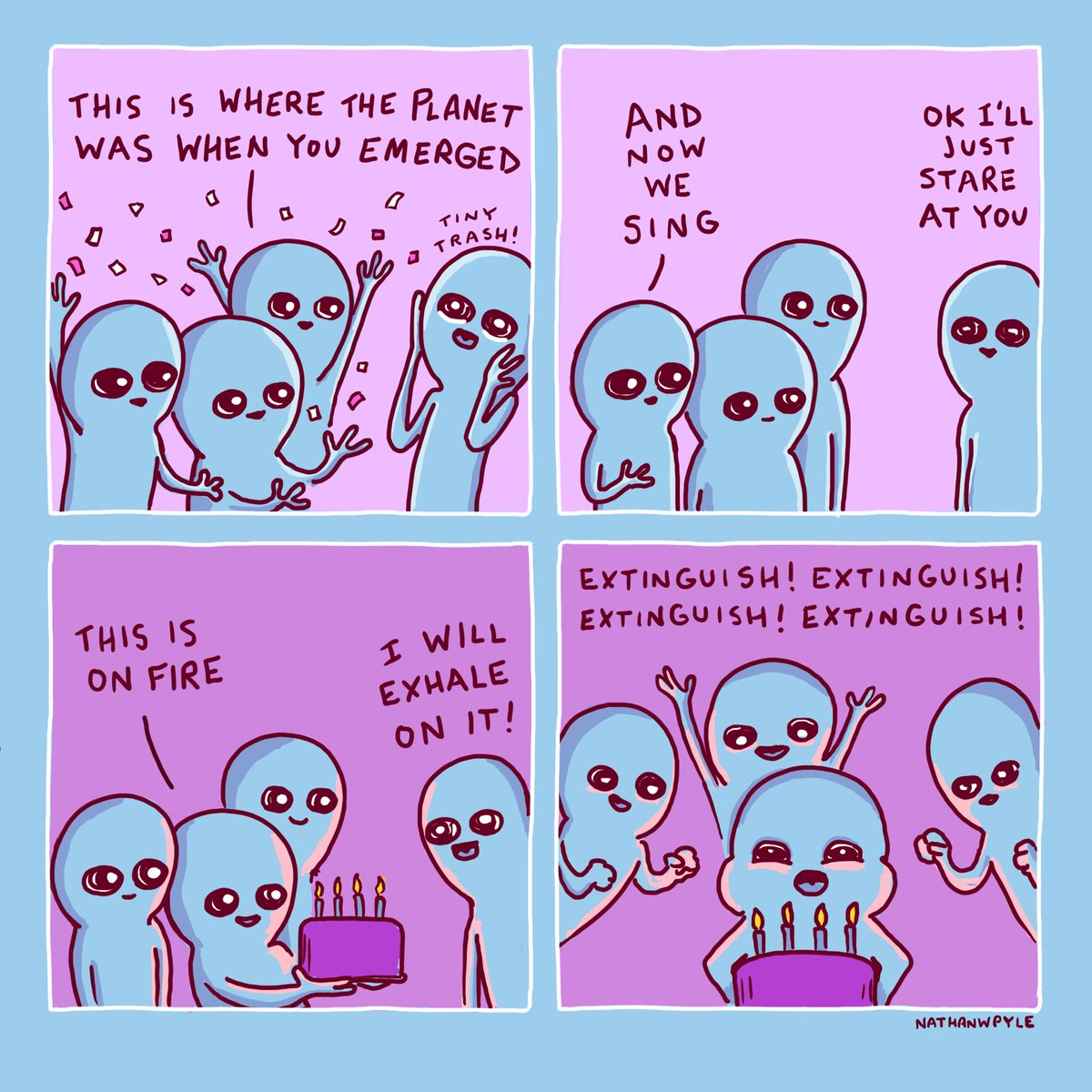 Image result for Happy Birthday comic Nathan Pyle