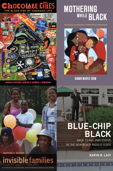 For #BlackHistoryMonth , we share books on #family &amp; #community by  @Dawn_M_Dow @manthonyhunter @zfelice @KarynLacy @mignon_moore #blacksociology @ABSociologists #ASA2019 #2019ASA #blackfamilies #BHM   http:// ow.ly/4Sz530nG6YG  &nbsp;  <br>http://pic.twitter.com/FCwtRsKUGx