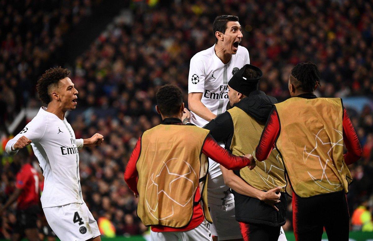 أهداف فوز باريس سان جيرمان على مانشستر يونايتد