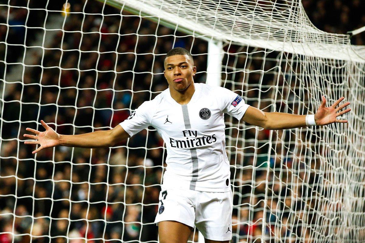 """Mbappé : """"Il faut que les gens nous soutiennent. On va soutenir Lyon la semaine prochaine. Il faut que le football français aille le plus loin possible. Il faut arrêter d'avoir peur, car on est bons !"""" (@RMCsport)"""