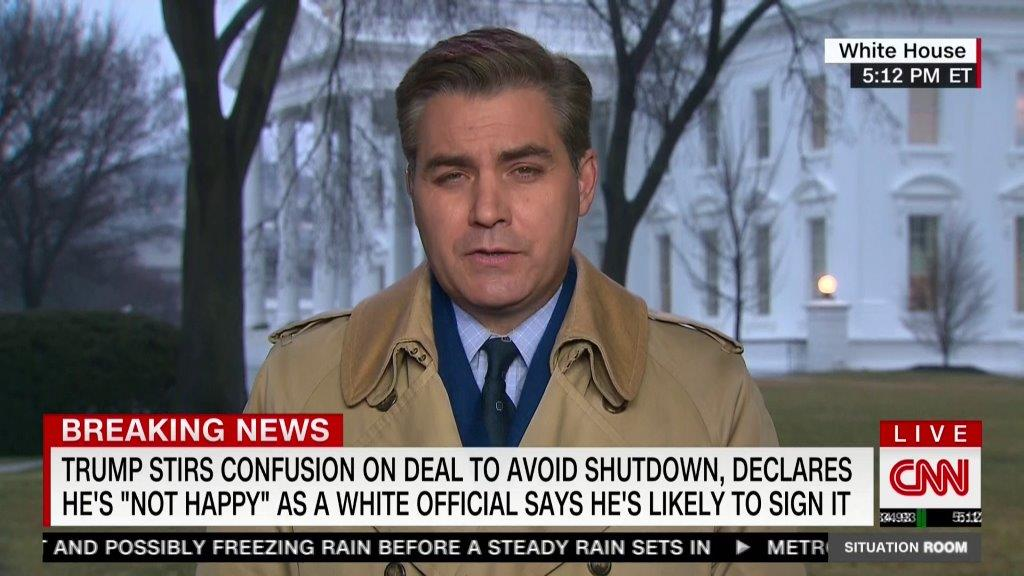 Um, CNN -- I think your Chyron writer missed a word in here --