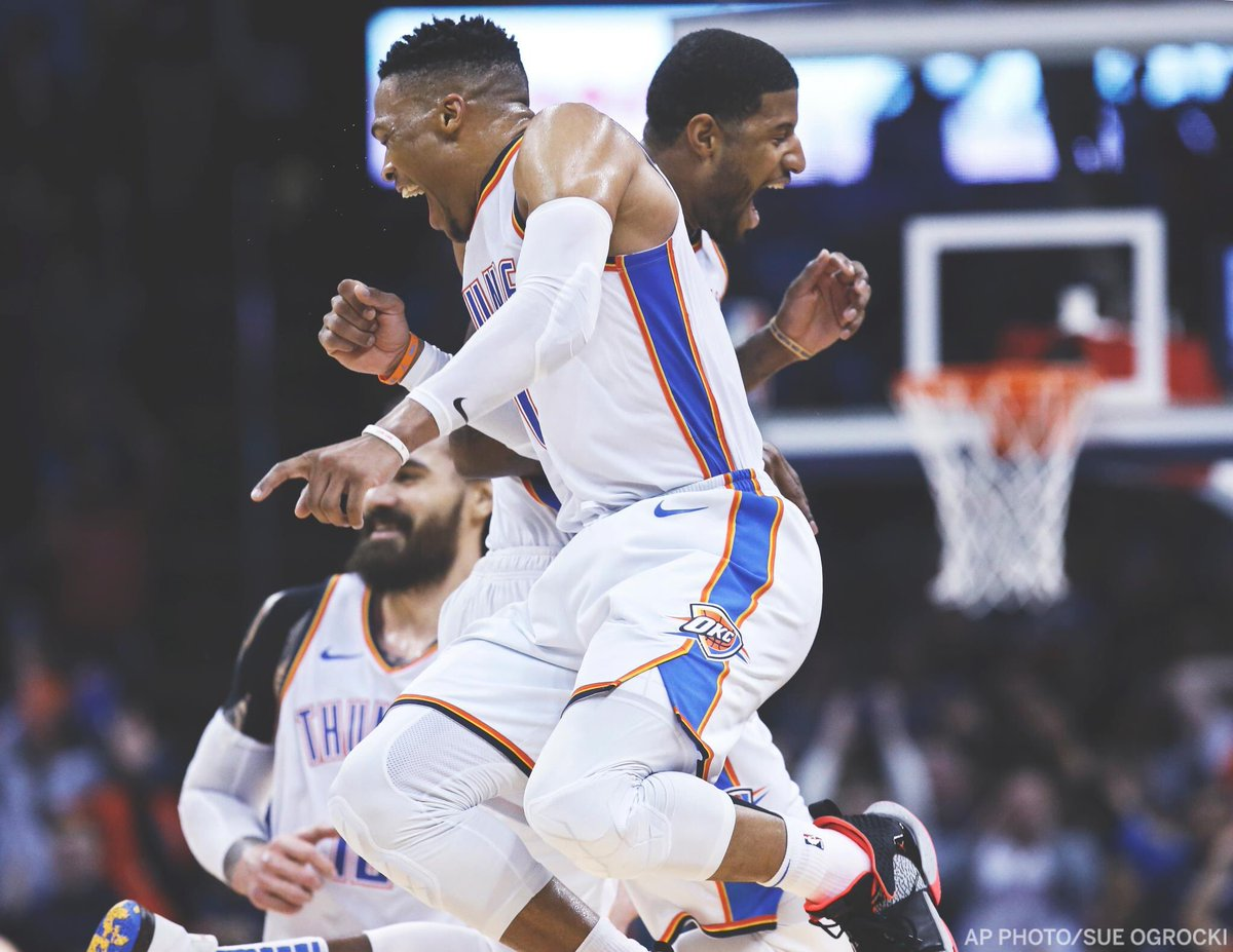 """""""Let me tell you bout my best friend"""" #Brodie #MVPG #okcthunder #ThunderBasketball"""