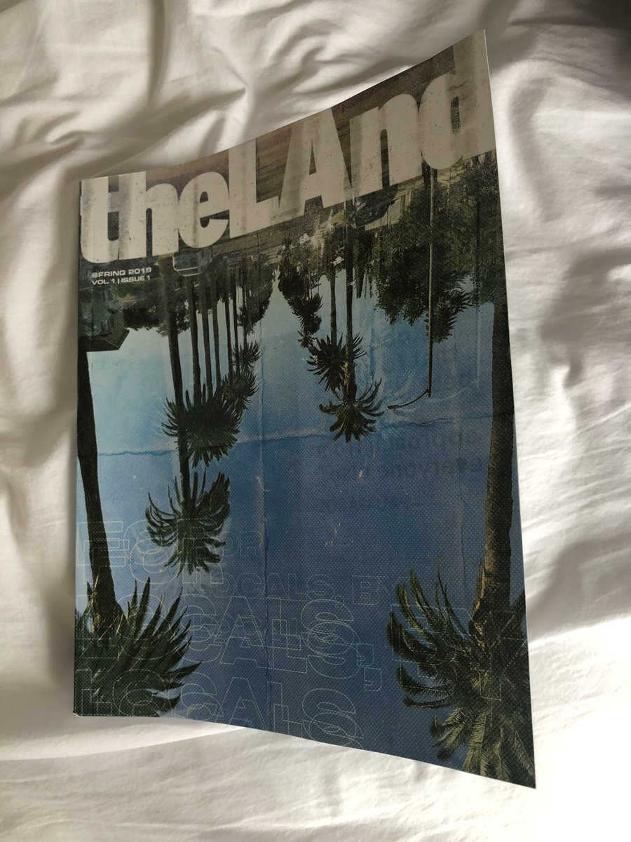 Out of the ashes of LA Weekly comes @theLAndmagazine and it's everything you could want in an alt-publication. A city as weird as LA deserves a publication as weird as this. Go check it out.