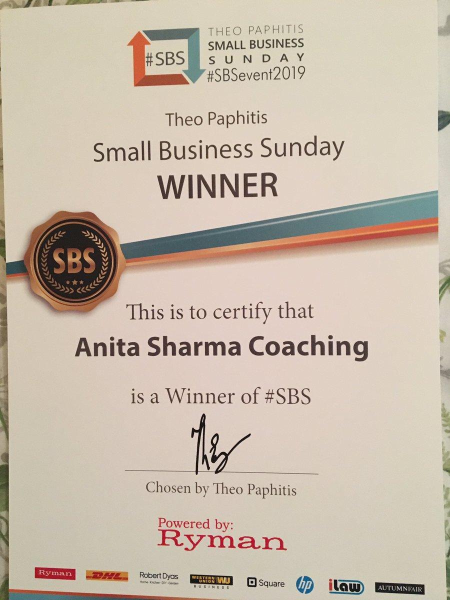 Anita Sharma's photo on #SBSevent2019
