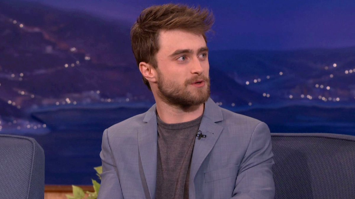 TUNE IN: #MiracleWorkers star Daniel Radcliffe is stopping by #CONAN tonight @ 11/10c on @TBSNetwork.