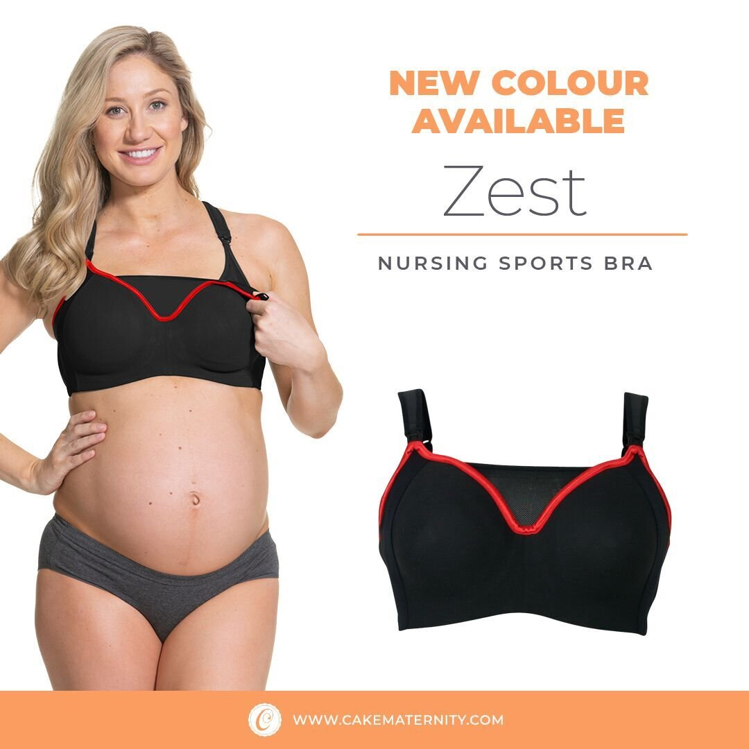 9fb5273fe  NEW  Black Zest nursing sports bra! The same great bra and style in