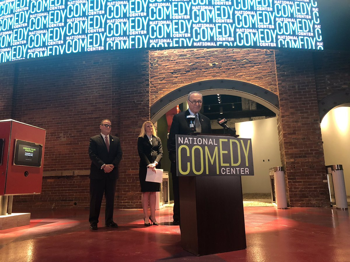 Want to visit the official NATIONAL Comedy Center? We're one step closer.  In a bipartisan vote, the Senate agreed that it should be in Lucille Ball's hometown—Jamestown, New York!  Next, it's the House's turn!