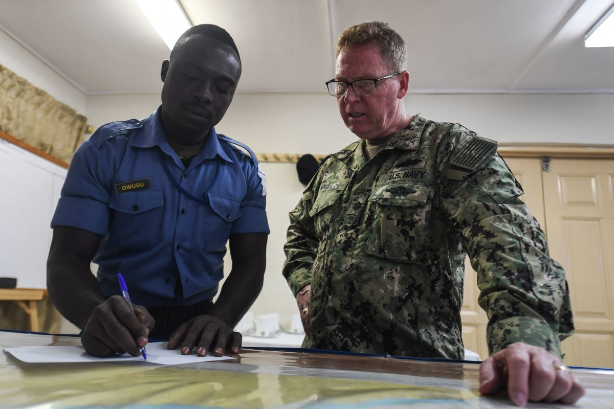 In ADM Foggo's latest #podcast #OnTheHorizon he discusses our African exercise series, #CutlassExpress, and the @USNavy efforts in Africa over the long term with our African partners. #NavyPartnerships  Listen here: https://soundcloud.com/user-561475303/on-the-horizon-episode-6 …