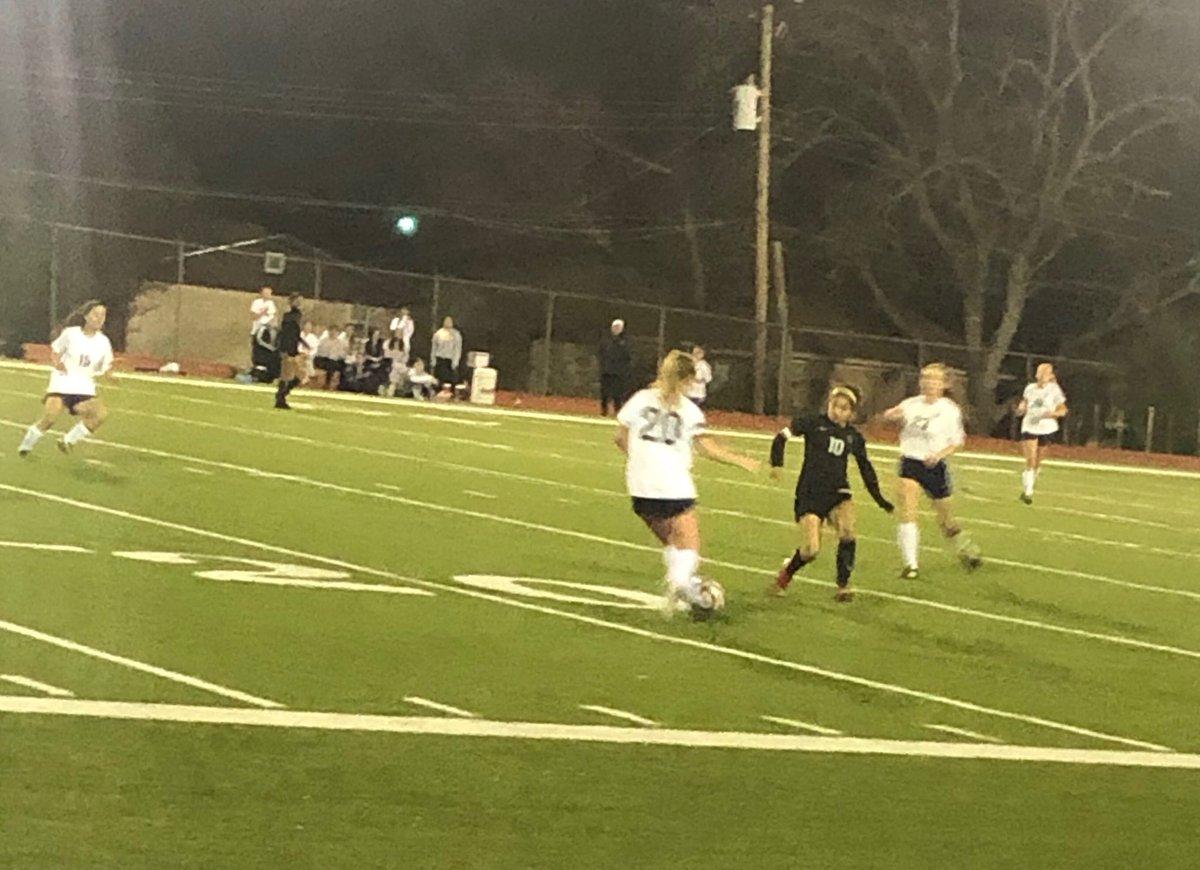 District 6-5A girls soccer game. @FWISDAthletics South Hills v. @ahhs_sports