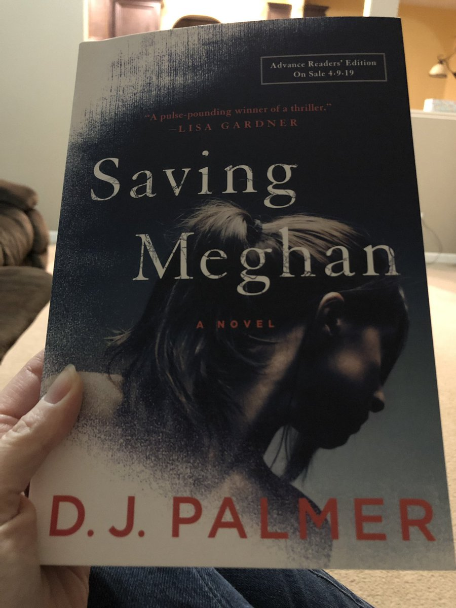 So good- get it April 9th 2019! #SavingMeghan #djpalmer #goodread