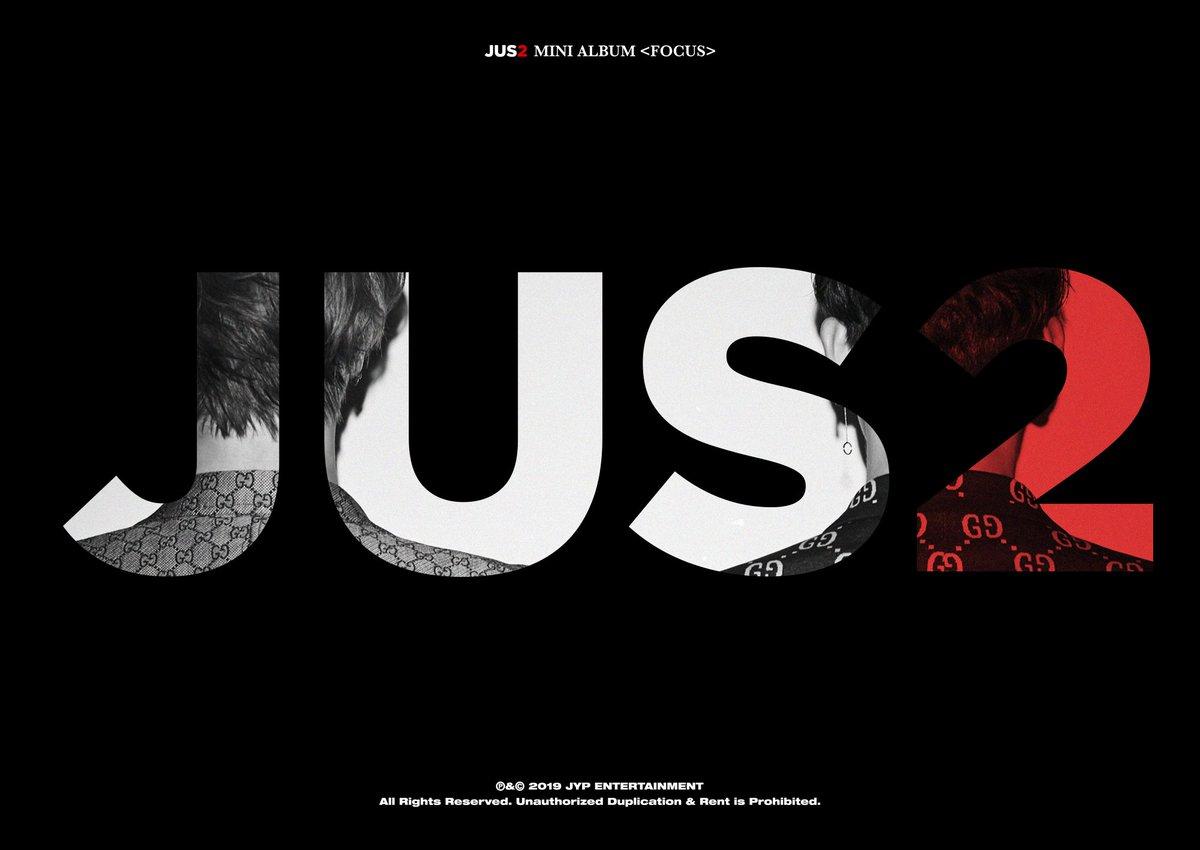 Jus2 MINI ALBUM <FOCUS>  #Jus2 #FOCUS