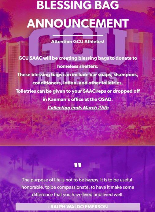 GCU SAAC on Twitter: