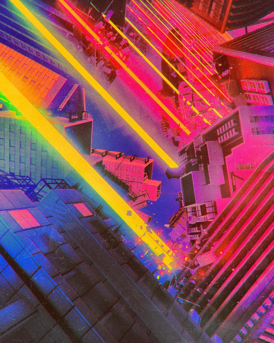 Art by @beeple_crap using our NEO TOKYO kit!    Use