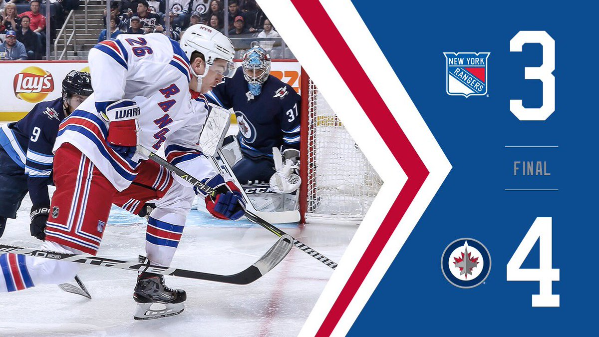 New York Rangers On Twitter Nyr Drop A Close One On The Road In