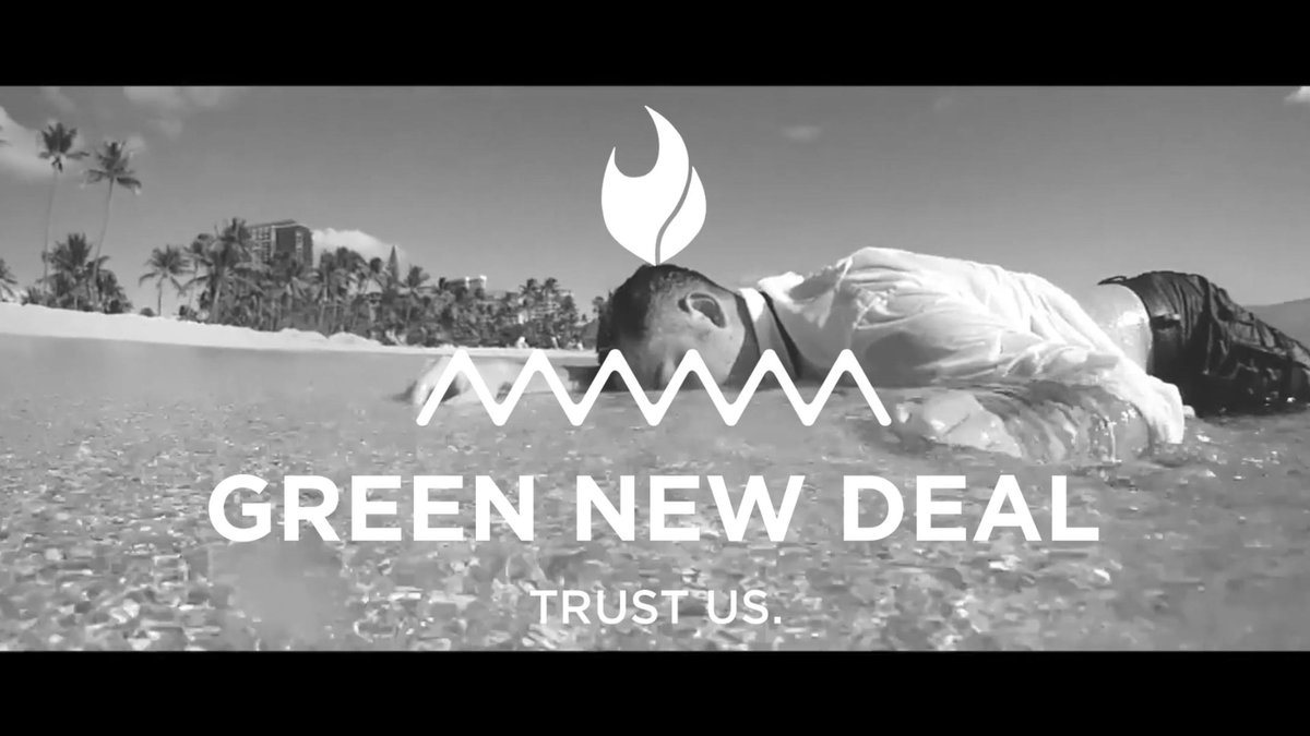 After the success of the Fyre Festival, we bring you the Green New Deal. #GNDisFyre