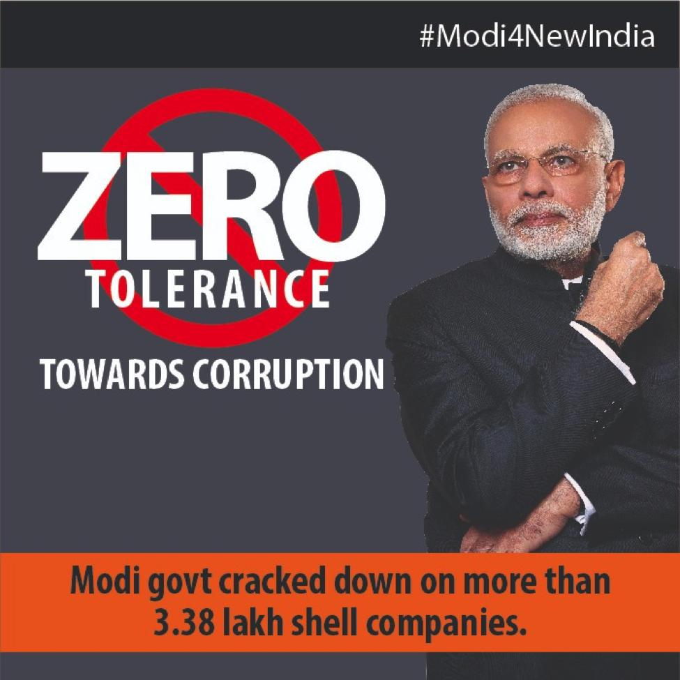 BJP's photo on shell
