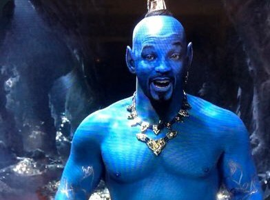 a lad in lamp is called genie. #Aladdintrailer <br>http://pic.twitter.com/UYEIT5bioT