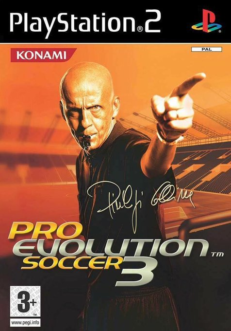 Happy birthday Pierluigi Collina the only referee to feature on the cover of a video game
