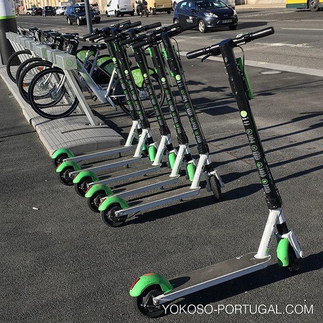 test ツイッターメディア - リスボンで今流行中の電動キックボード。ちょっとした移動にもってこい、スマホアプリで簡単にレンタル出来ます。自転車、スクーターもあります。 #リスボン #ポルトガル https://t.co/Ta58Cx0ShM