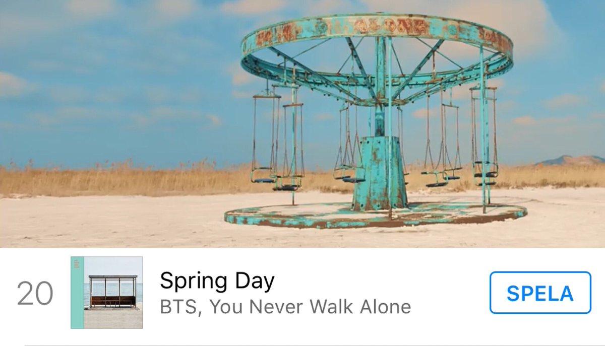 Swedish iTunes  @BTS_twt #TimelessSpringDay  Still Top 20   Singles: #20 Spring Day <br>http://pic.twitter.com/ZRUyVWQQqJ