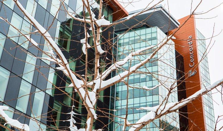 Concordia University's photo on #WinterStorm