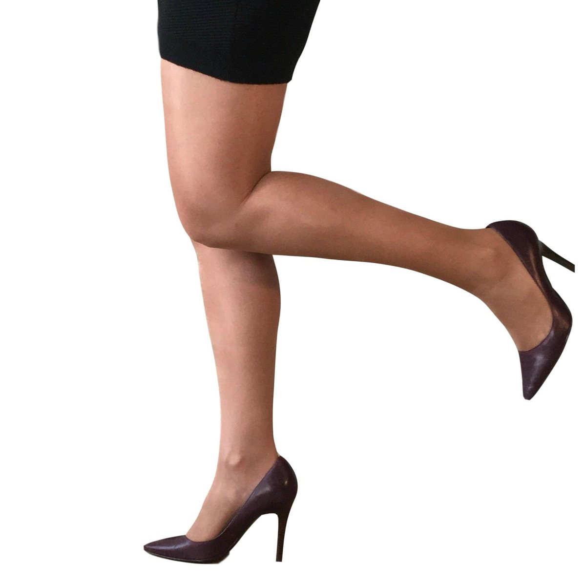 c52c7aaf56707 Glossy tights for fuller figure ladies. 15 denier plus size tights with