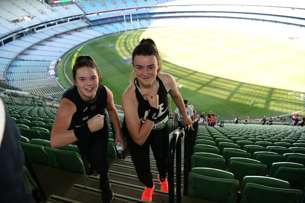 Step up to your next fitness challenge and take on the ultimate stair climb @StadiumStomp in 2019.    🐦Super Early Bird offer ends this Sunday.   💻Register now: https://bit.ly/2Uy2JCi
