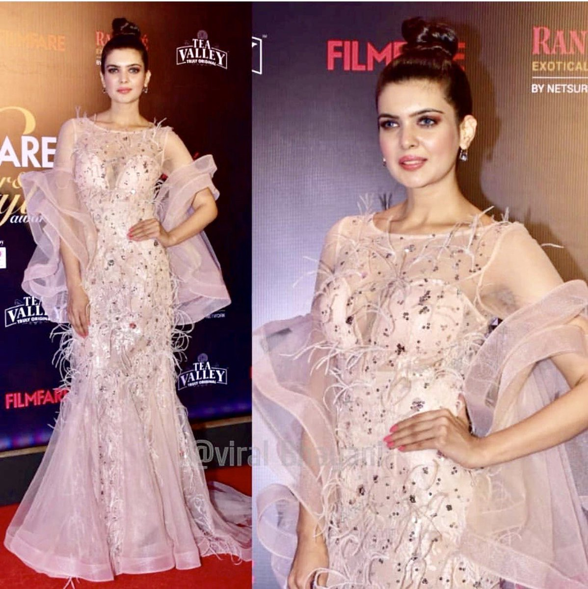 It&#39;s All About feeling like a princess Last night at the ever so amazing #FilmfareGlamourAndStyleAwards at the #TeaValley<br>http://pic.twitter.com/JDpnZtHxBC