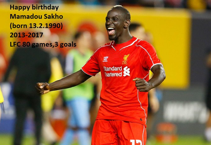 Happy 29th birthday Mamadou Sakho!