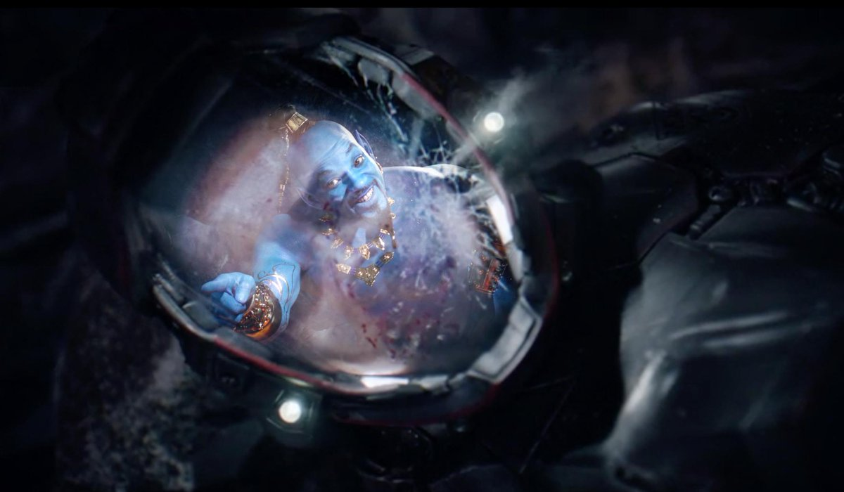 I&#39;ve just uncovered the original secret proto-hybrid monster design. Aren&#39;t you glad @EliasToufexis stepped in and gave us the infinitely less scary version? :)  #TheExpanse #ScreamingFirehawks #Aladdin #Aladdintrailer #genie #willsmith<br>http://pic.twitter.com/nIjpebACgM