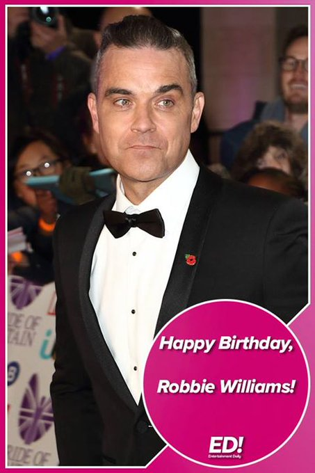 New post (Happy 45th Birthday Robbie Williams!) has been published on Fsbuq -