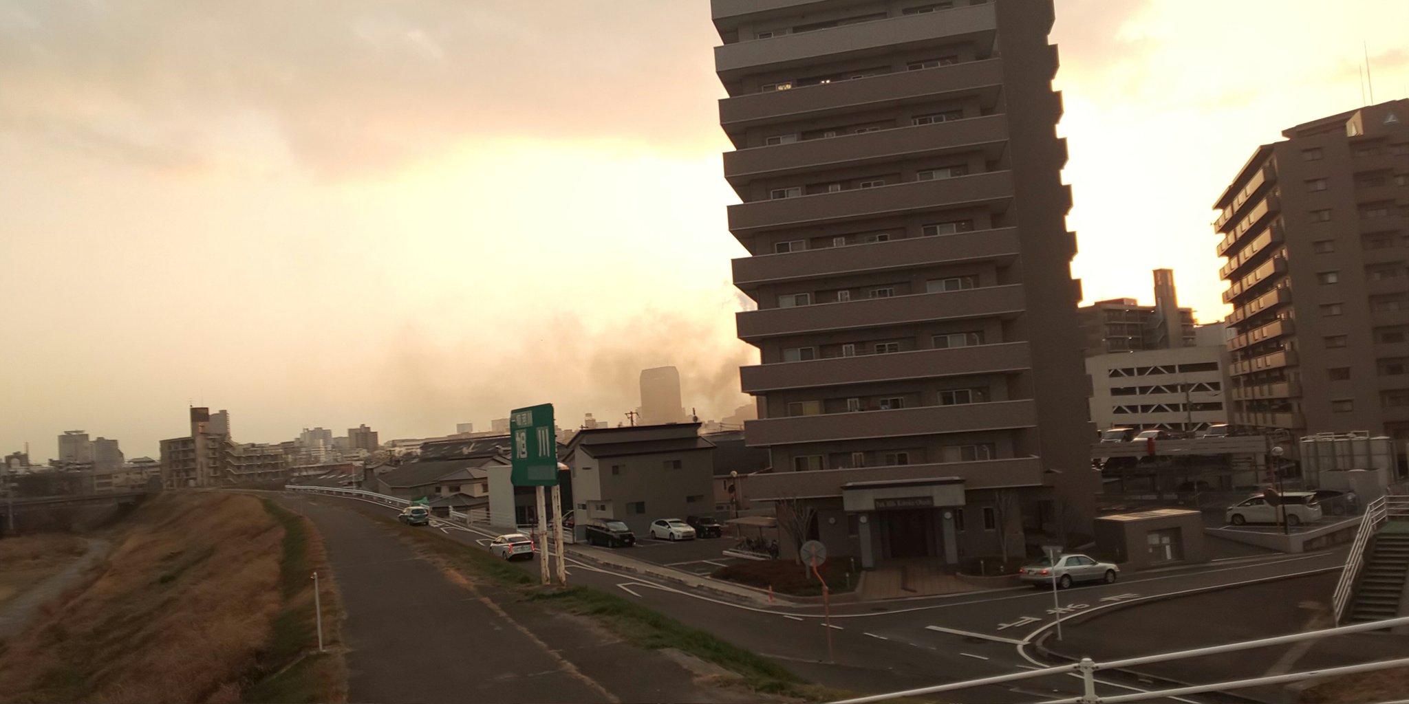 画像,岡山市大和町付近火事 https://t.co/hfDnPlnzeF。