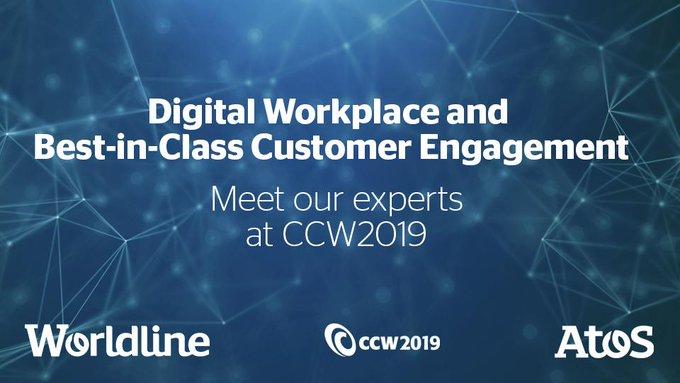 Auf der #CCW2019 zeigen wir Ihnen live, wie die #Digitalisierung Ihren Kundenservice...