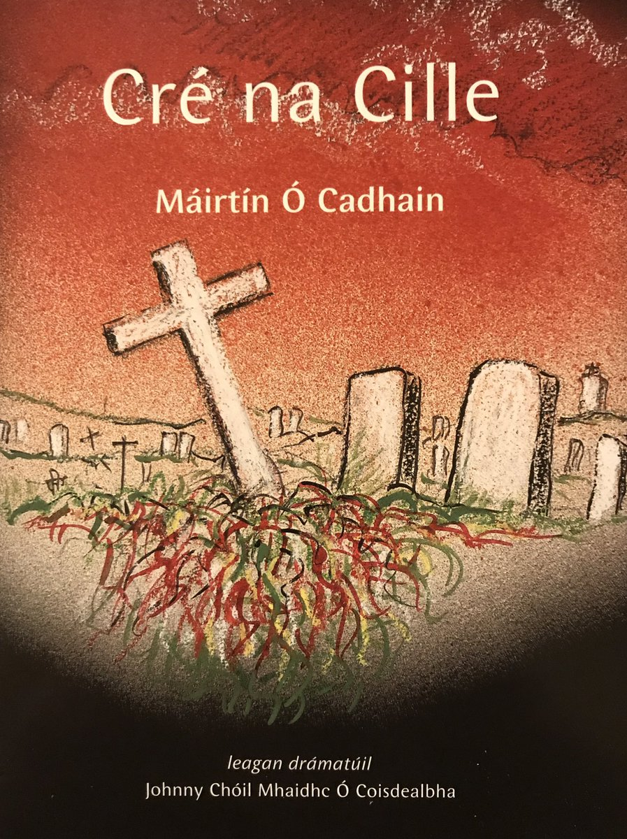 "Dluthdhioscaí don drama ""Cré na Cille"" le Mairtín Ó Cadhain a craoladh ar @RTERnaG i 1973.  An 8cd set of Mairtín Ó Cadhain's play ""Cré na Cille"" that was broadcast on #RadioNaGaeltachta in 1973. Thank you ""Bell,Book & Candle"" in Galway, maith sibh!  #Culture #Heritage #Gaeilge"