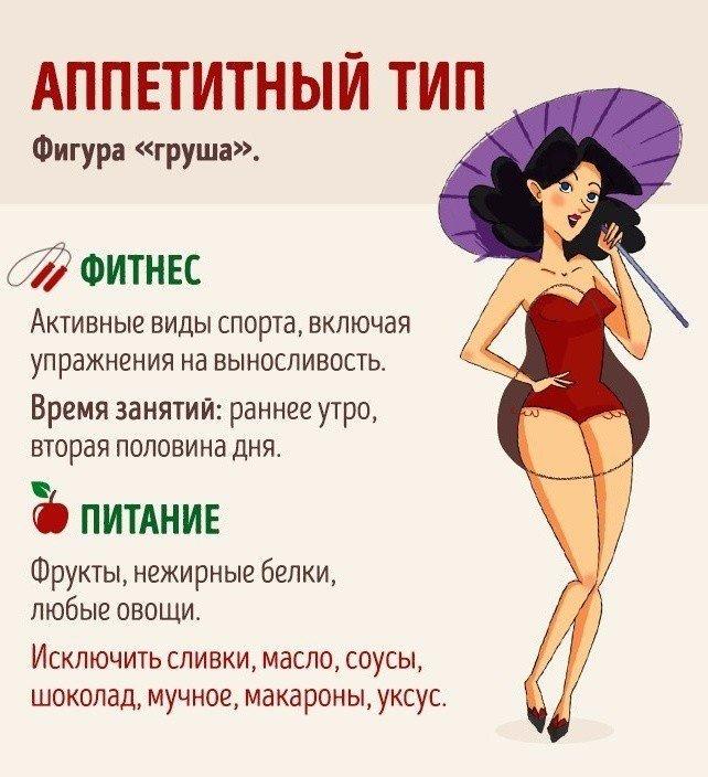 Как похудеть для женщины с фигурой груша