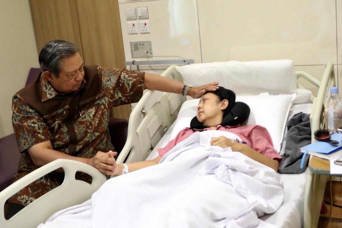 Ibu Ani Yudhoyono, Dapat Kiriman Doa dari Anies Baswedan