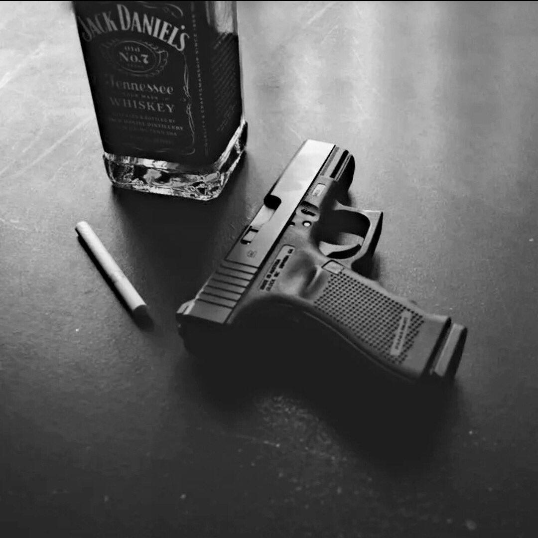 Картинка пистолет и сигарета