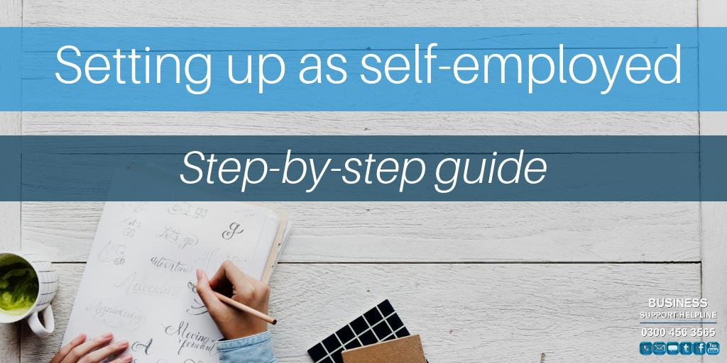 Find out what you need to do, step-by-step, when you start working for yourself - either as your only job or at the same time as working for an employer 👉 https://t.co/BDhqh8CTJ6  #BSHelpline