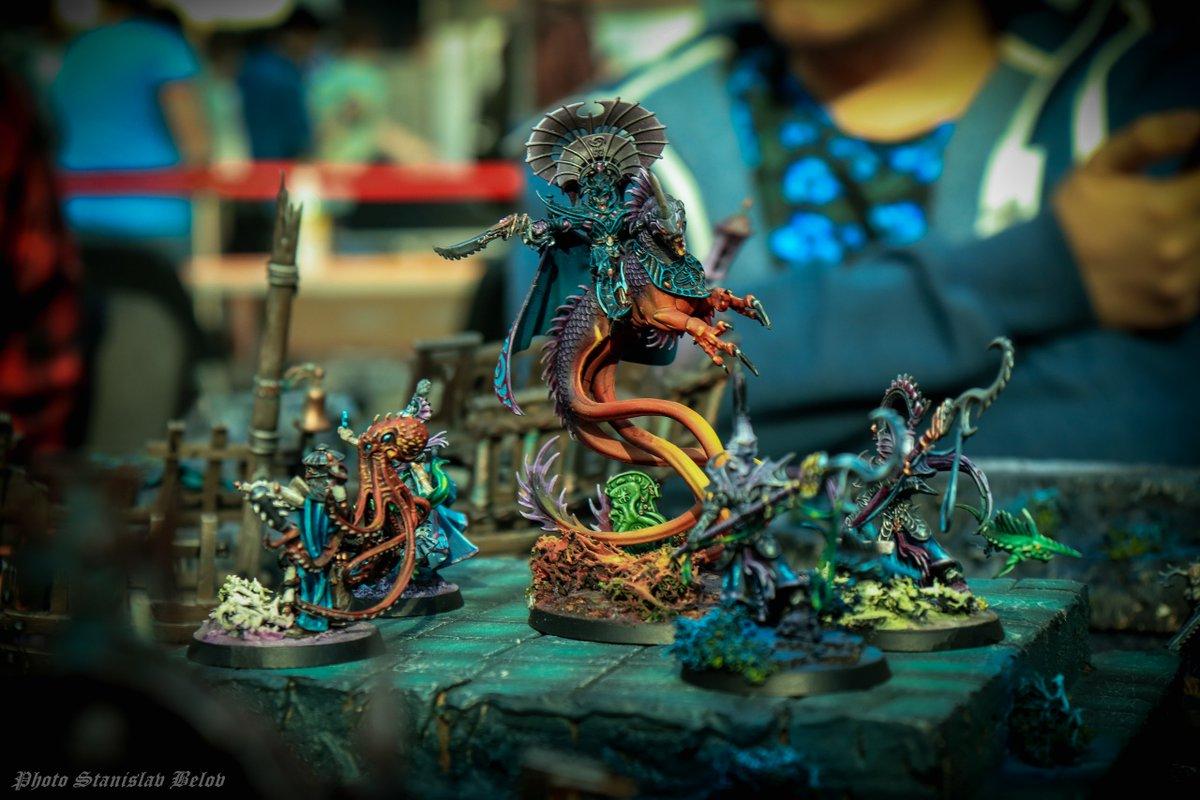 В Москве 23 и 24 февраля пройдёт командный турнир по Warhammer 40,000 и Age of Sigmar