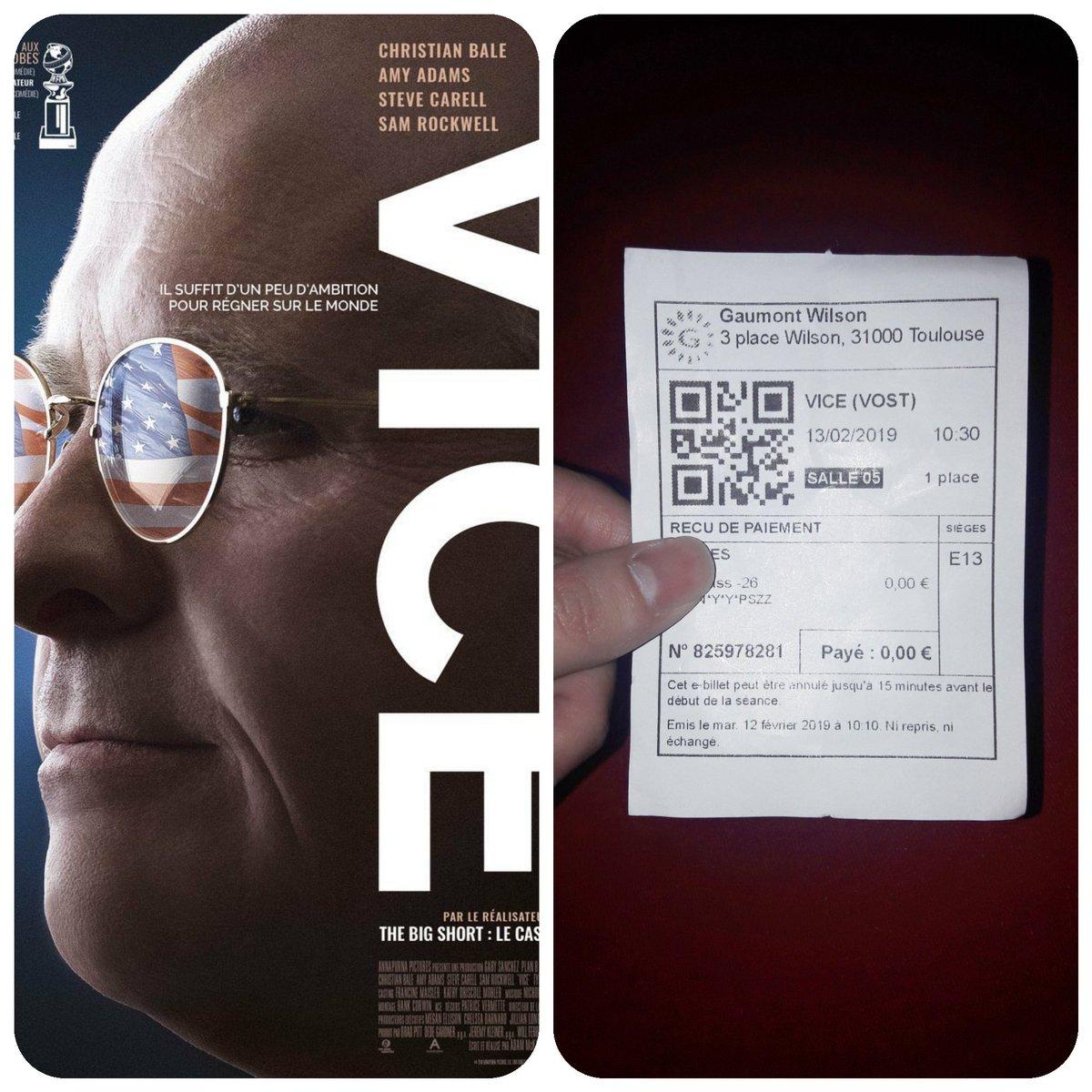 🍿Le Ciné Clem 🍿's photo on #Vice