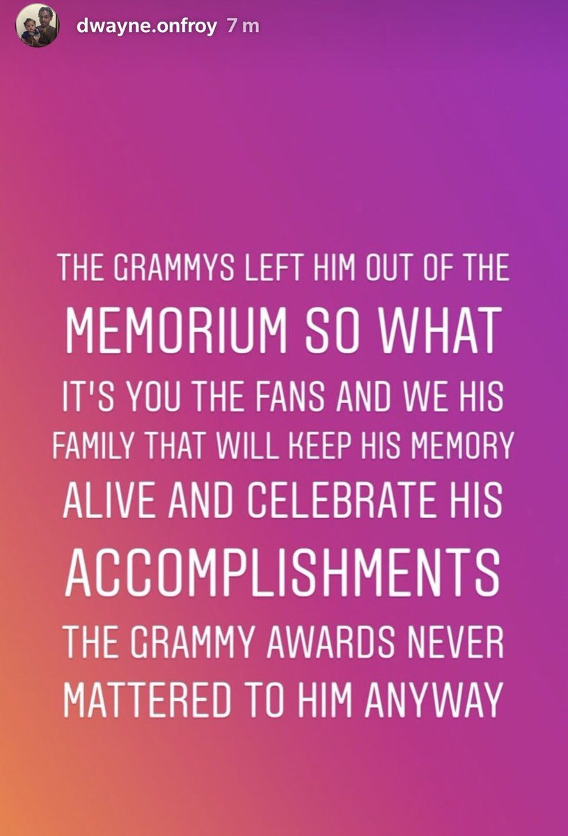 XXXTentacion's Father reacts to the whole Grammy Awards/Tribute situation. <br>http://pic.twitter.com/aPBaWQYkeE