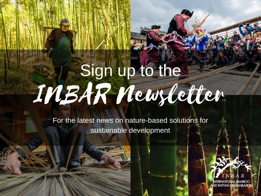 Sign up on our homepage for the latest nature-based solutions in your inbox.  http://www. inbar.int  &nbsp;  .  #thinkbamboo #thinkrattan<br>http://pic.twitter.com/4wmrSmEovq
