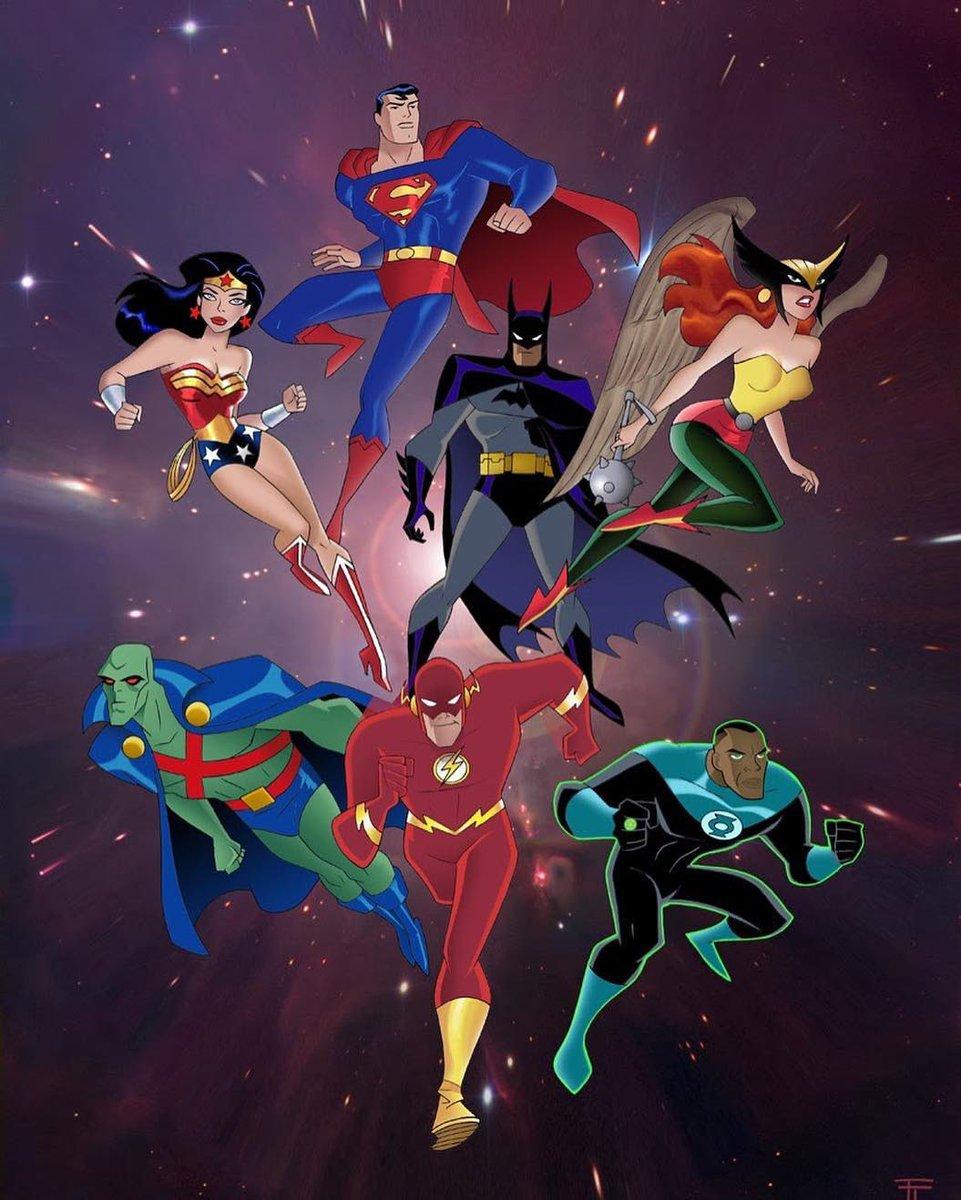 justice league cartoon - HD961×1200