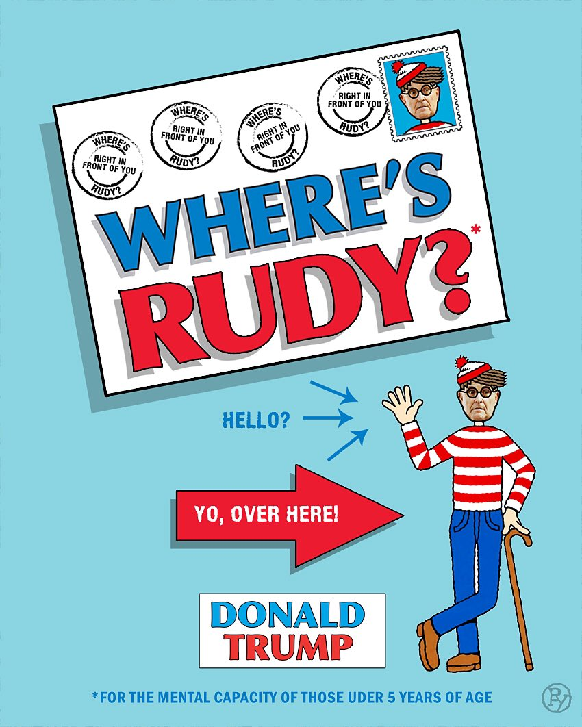 Image result for where's rudy