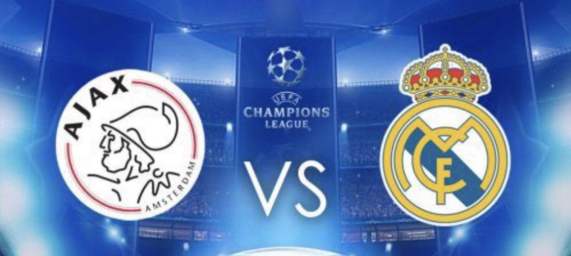 Ajax pierde ante el Real Madrid 1-2 en los Octavos ida 2019