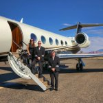 Good morning! Welcome aboard.  #BreakTheIceIn4Words #Gulfstream #G450  📸Photo taken by 👨✈️Pilot John Clark.